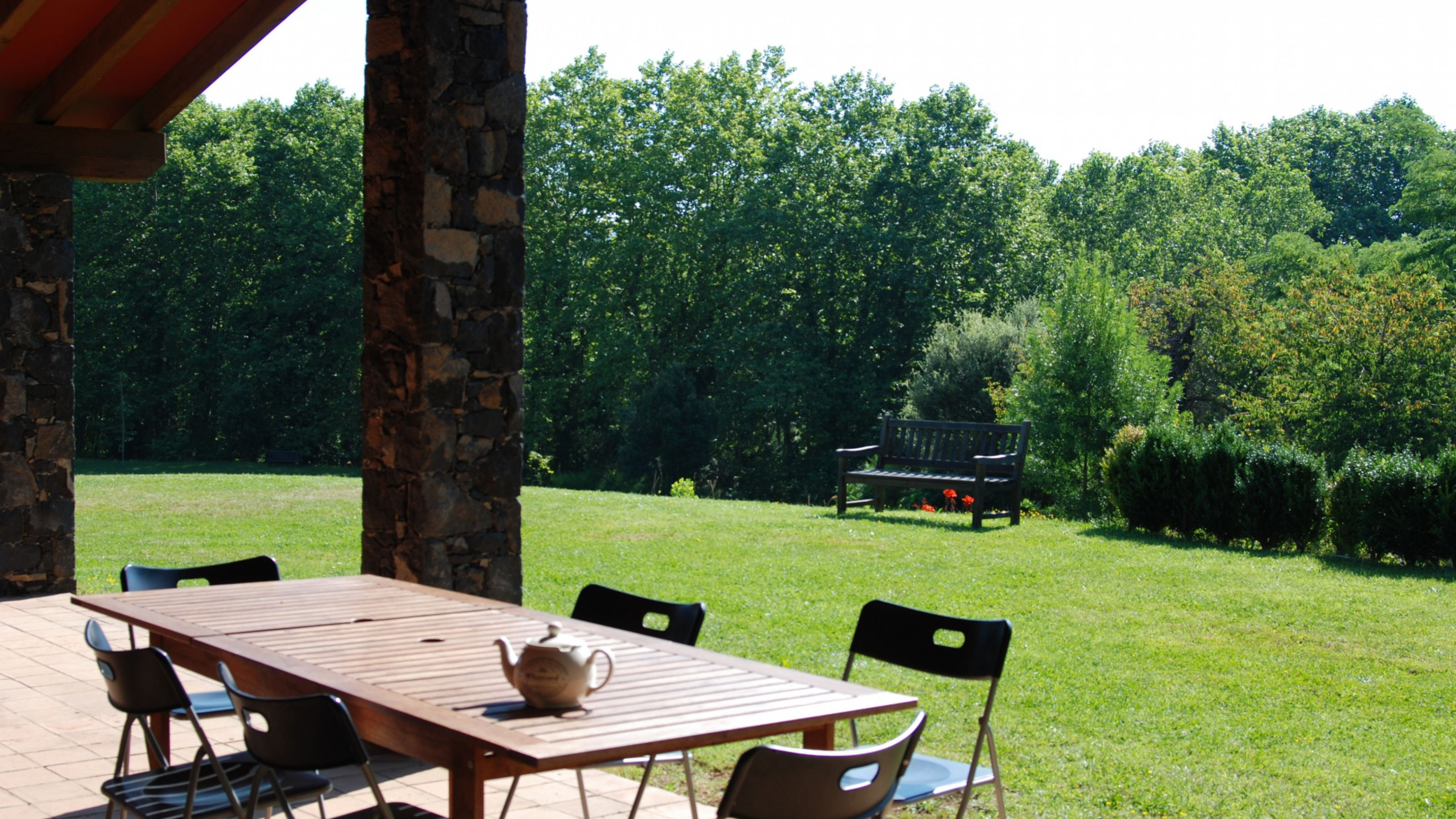 Turismo rural en santa pau turismo rural mas cantallops - Casa rural santa pau ...