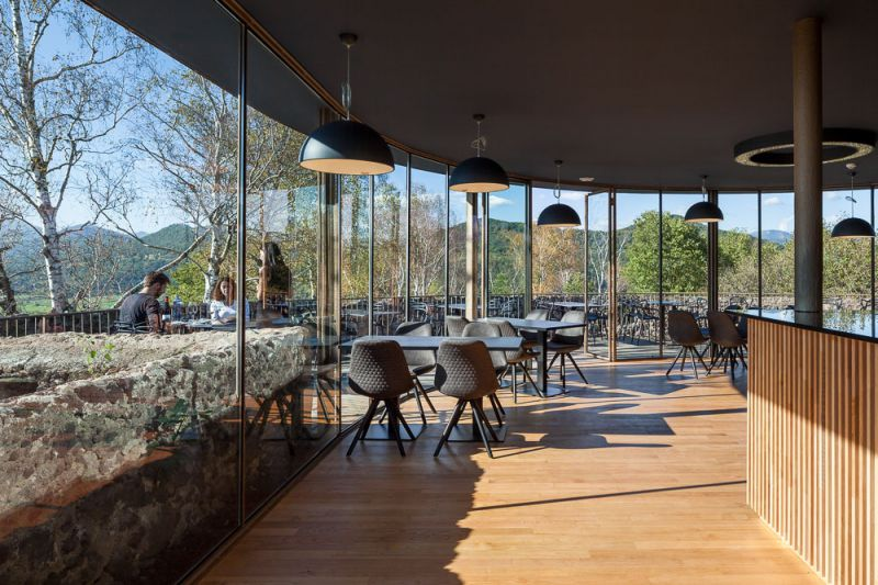 Restaurante El Fortí del volcà Montsacopa
